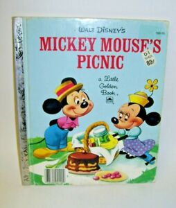 A Little Golden Book Disney's Mickey Mouse's Picnic