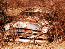 """Abandoned Junk Cars Collection #5 - Canvas Art Poster 18"""" x 24"""""""