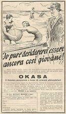 W4839 Okasa Präparat A Basis Von Hormone - Werbung Der 1934 - Vintage Advert