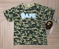 A BATHING APE BAPE x KAWS Collabo Camo TEE Size XL Super Rare