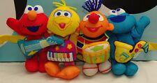 Sesame Street Elmo Bird Cookie Monster Bert Sing A Long for Stroller or Crib