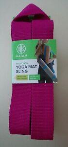 GAIAM Easy Cinch Hot Pink Yoga Mat Sling