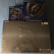 PlayStation 4 PS4 Pro 2TB 500 Million Limited Edition + Headset + Controller
