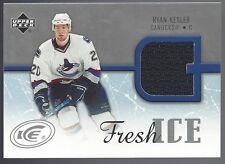 Ryan Kesler Vancouver Canucs 2005-06 Upper Deck Fresh ICE Memorabilia #FI-RK