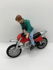 Terminator 2 John Connor With Motorcycle Vintage Action Figure Kenner 1991 T2
