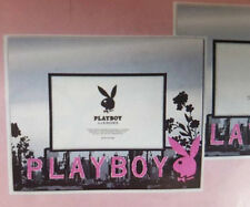 "PLAYBOY CITY BUNNY PINK & BLACK BEDROOM 4"" x 6"" GLASS PHOTO FRAME GIFT IDEA"