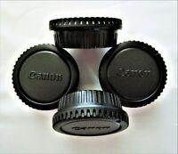 8 X Canon Camera Body/Rear Lens caps for Canon DSLR/SLR Cameras/EF lens/U.S SHIP