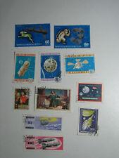 Set 11 Stamps Mongolia Mongol Shuudan Cosmos Space Exploration Program Copernicu