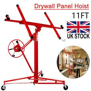 Heavy Duty Tool Drywall Hoist Caster 11FT Lift/Lifter Plasterboard Panel Sheet
