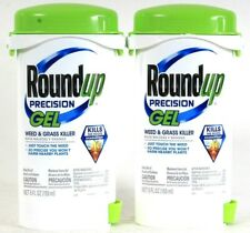 2 Count Round Up 5 Oz Precision Gel Weed & Grass Killer Won't Harm Nearby Plants