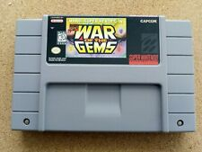 WAR OF THE GEMS SNES USA NTSC CART MARVEL SUPERHEROES