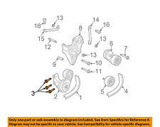 GM OEM Fuel System-Mount Strap Bolt 96626203