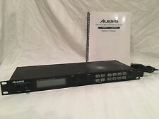 ALESIS DM5 DRUM MODULE W/POWER CORD AND INSTRUCTION MANUAL