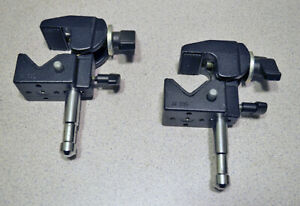 Mathews Studio Equipment Mafer Clamps Black (Lot of 2)