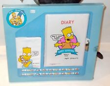 The Simpsons RARE Bart DIARY & ADDRESS BOOK BRAND NEW SEALED Legends of Entertai