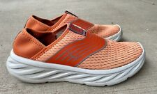 HOKA ONE ONE Ora Recvoery Shoes Athletic Sneakers Men's Size 8 Coral Orange