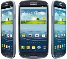 <MINT> AT&T Samsung Galaxy S3 S III SGH-I747 16GB Blue 3G & 4G LTE 16GB 8MP WIFI