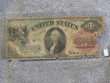 1869 $1 US LARGE NOTE F-18- A RARE  & FAIR SPECIMAN-FREE SHIPPING....