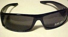 Smoke LENS Designer STYLE SUNGLASSES sporty Black frames mens womens brand new