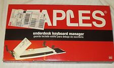 STAPLES Underdesk Keyboard Manager with mouse pad
