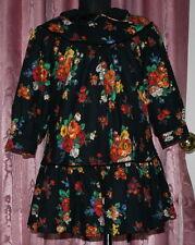 HUMMELSHEIM ☺ Kleid im Hängerchen Stil ☺ Gr. 104 ☺ *TOP* ☺mit Unterkleid ☺ FLEUR