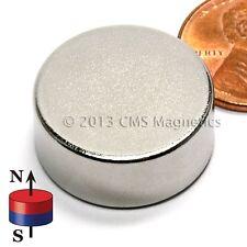 """Neodymium Disk Magnet N35SH 7/8x3/8"""" HIGH TEMP NdFeB Rare Earth Magnets Lot 4"""