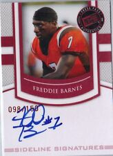 2010 Press Pass PE Sideline Signatures Ruby - FREDDIE BARNES #SS-FB = 098/150