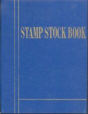 Small Stamp Album - Stock Books, 8 SIDES, 4 Pages-Fine Quality-Fresh Stock