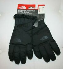 The North Face Women's Gloves Sze M Black with Black Faux Fur Lining NWT