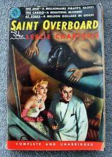 LESLIE CHARTERIS Saint Overboard SIMON TEMPLAR Avon 432 Vintage Paperback
