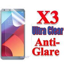 3x Ultra Clear & Anti Glare Matte Screen Protector Film Guard For LG G6 Q6