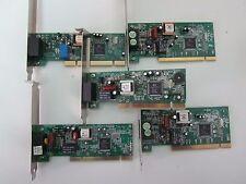 LOTE 5 X MODEM INTERNO PCI - REF 1041