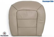 05 Ford Explorer Sport Trac -Passenger Bottom Replacement Leather Seat Cover Tan