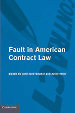 Fault in American Contract Law (Hardback book, 2010)