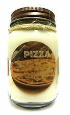 Pizza 16oz Country Jar Soy Candle - Approximate Burn Time 144 Hours Novelty Cand
