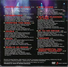 rare DVD slip PROMO ONLY balada SIN BANDERA entra en mi vida MIENTES TAN BIEN