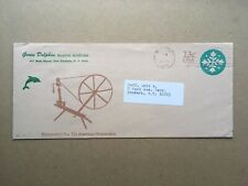 Rare 1976 Green Dolphin MARINE SUPPLIES New Rochelle, NY Cachet Envelope U572
