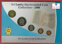 SRI LANKA UNCIRCULATED COIN COLLECTION 2006  UNC