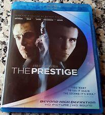PRESTIGE Blu Ray Christian Bale Hugh Jackman NOLAN David Bowie Nikola TESLA