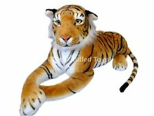 "Huge Giant Extra Large Brown Tiger Soft Toy Plush 160cm 63"" Realistic Features"