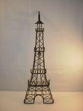"24"" Metal Eiffel Tower Wall Décor Photo/Jewelry Holder"