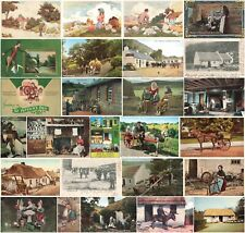Irish Life (Eire) Vintage Postcards Many are of Early 20th Century - Pick Yours.