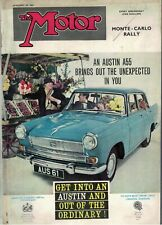 The Motor Magazine 1961 25 January Peugeot 404 Test Monte Carlo Rally 7066F