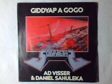 "AD VISSER & DANIEL SAHULEKA Giddyap a gogo 7"" ITALY FESTIVALBAR 1983"