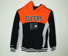 Philadelphia Flyers NHL Hockey Hooded Sweatshirt Reebok Boys YOUTH MEDIUM 10 12