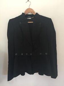 Alexander McQueen Blazer - Classic Timless Black Blazer Size 44