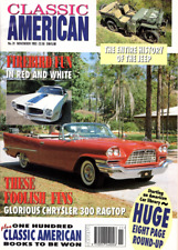 CLASSIC AMERICAN CARS Magazine. #31 Nov 1993 - History of the Jeep, Chrysler 300