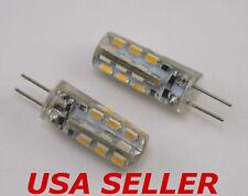 Lot of 12  - G4 / MR11 / MR16 1.5W AC / DC 12V White LED Light Bulbs for Malibu