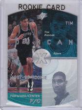 Tim Duncan SPX ROOKIE CARD San Antonio Spurs Basketball 1997/98 Upper Deck $$ RC