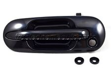 fits Honda CRV Outside Exterior Door Handle Front Left Driver Black Smooth